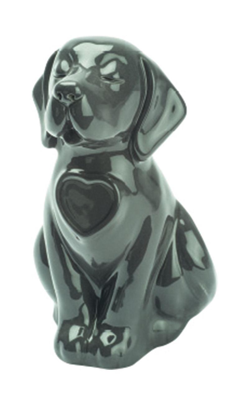 Urna Cane Modello Seduto in porcellana