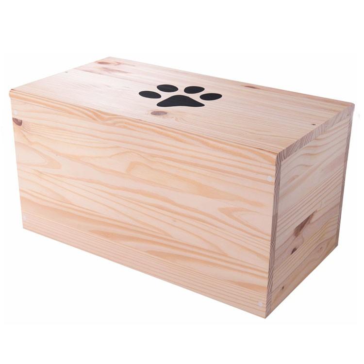 Bara per cane o gatto in legno modello ciliegio