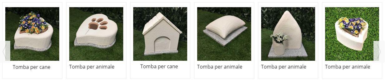 Tombe per cremazione animali genova - MyPeterPan