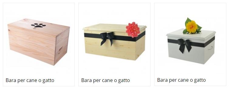 Bara cane o gatto per cremazione animali Brescia - MyPeterPan