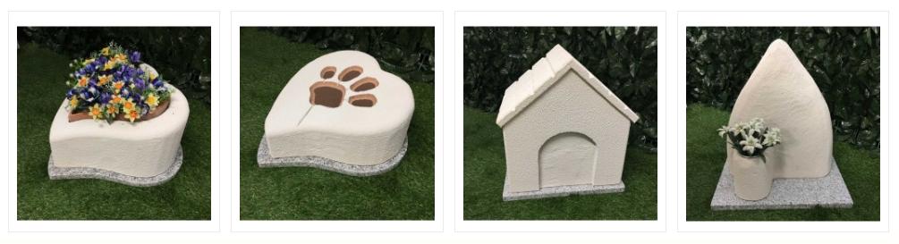 Tombe e lapidi per cremazione animali Brescia - MyPeterPan